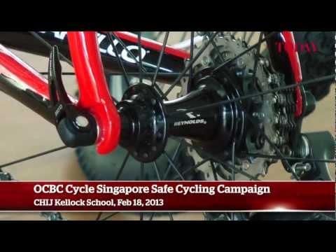 OCBC Cycle Singapore Safe Cycling Campaign, Feb 18, 2013