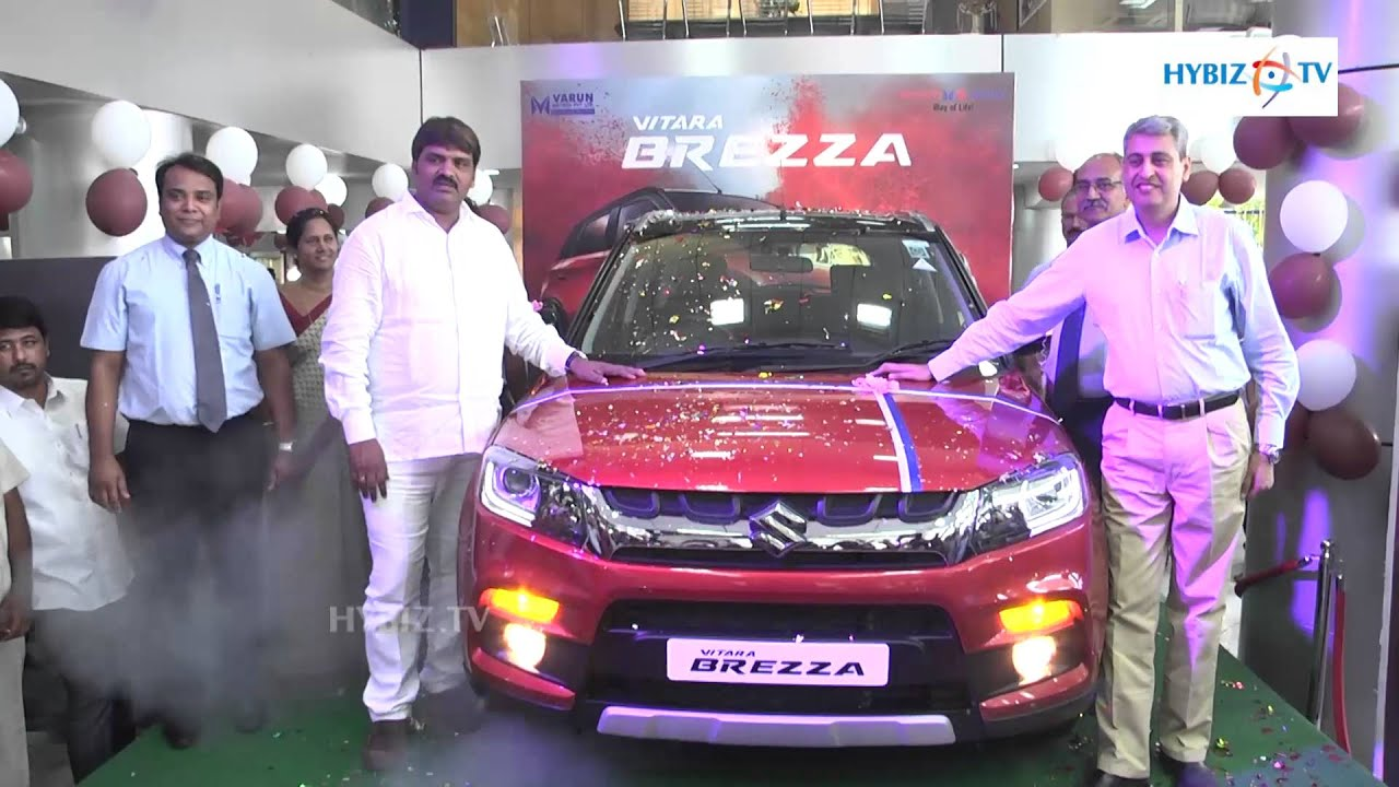 new car launches in hyderabadVitara Brezza Price in India Rs 723 lakh  hybiz  YouTube
