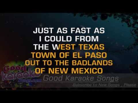 El Paso -Taking Back Sunday ( Karaoke Lyrics )