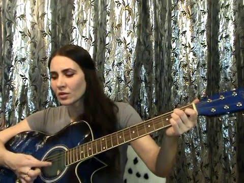 А закаты алые видеоурок на гитаре