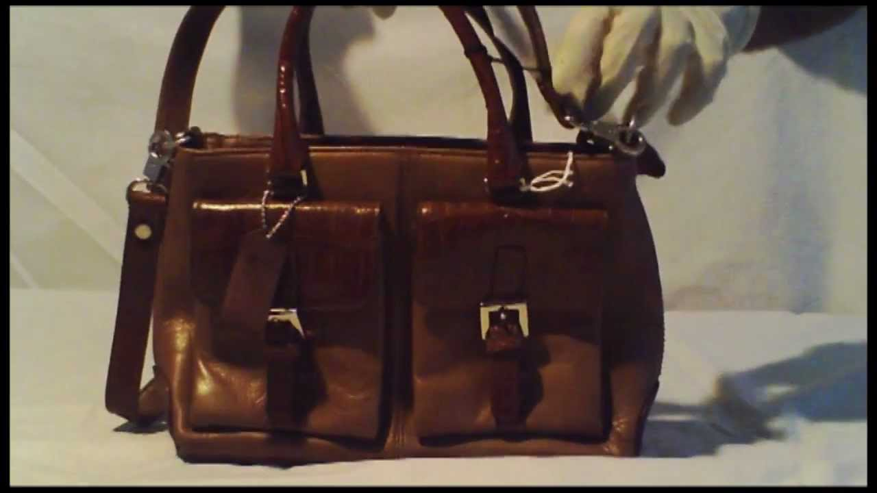 ab2dddc917 GlobalFashionKing.com - MC Marc Chantal Genuine Leather Cognac Purse ...
