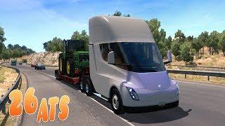 American Truck Simulator Тесла автопилот Стрим АТС Последние города