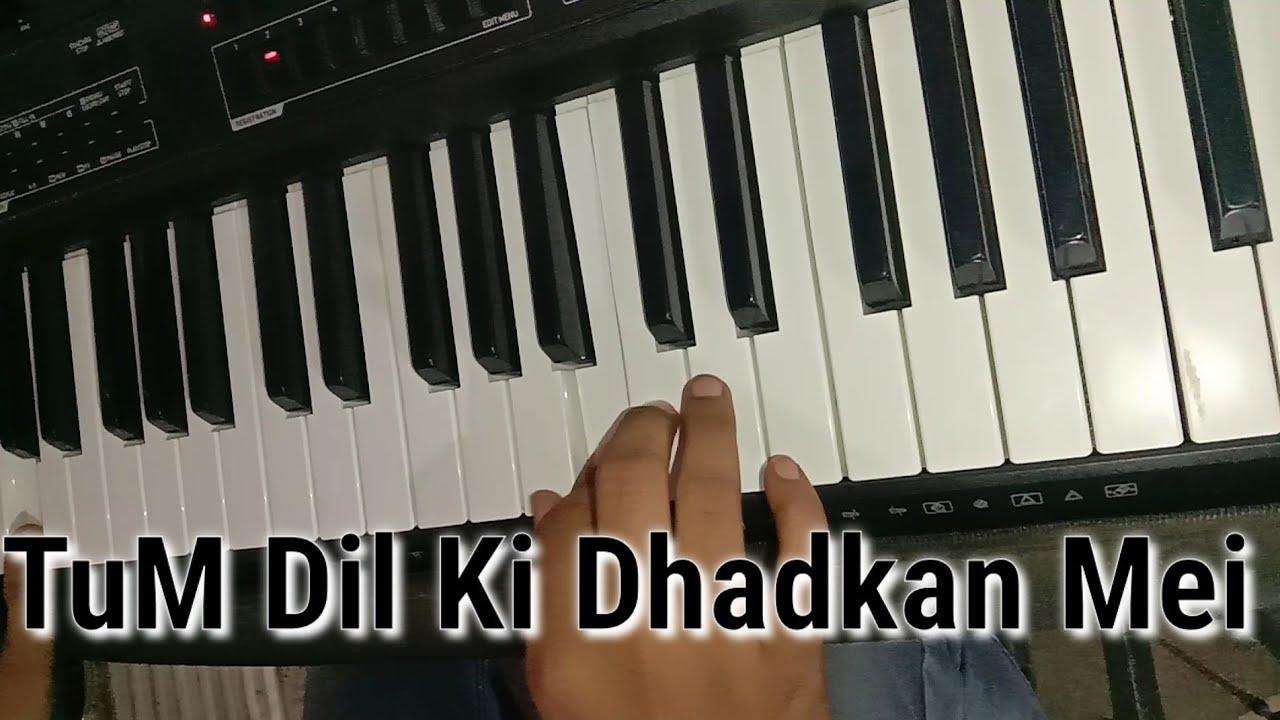 Tum Dil Ki Dhadkan Mei Piano   New Version   Chirag All Types Video #Shorts