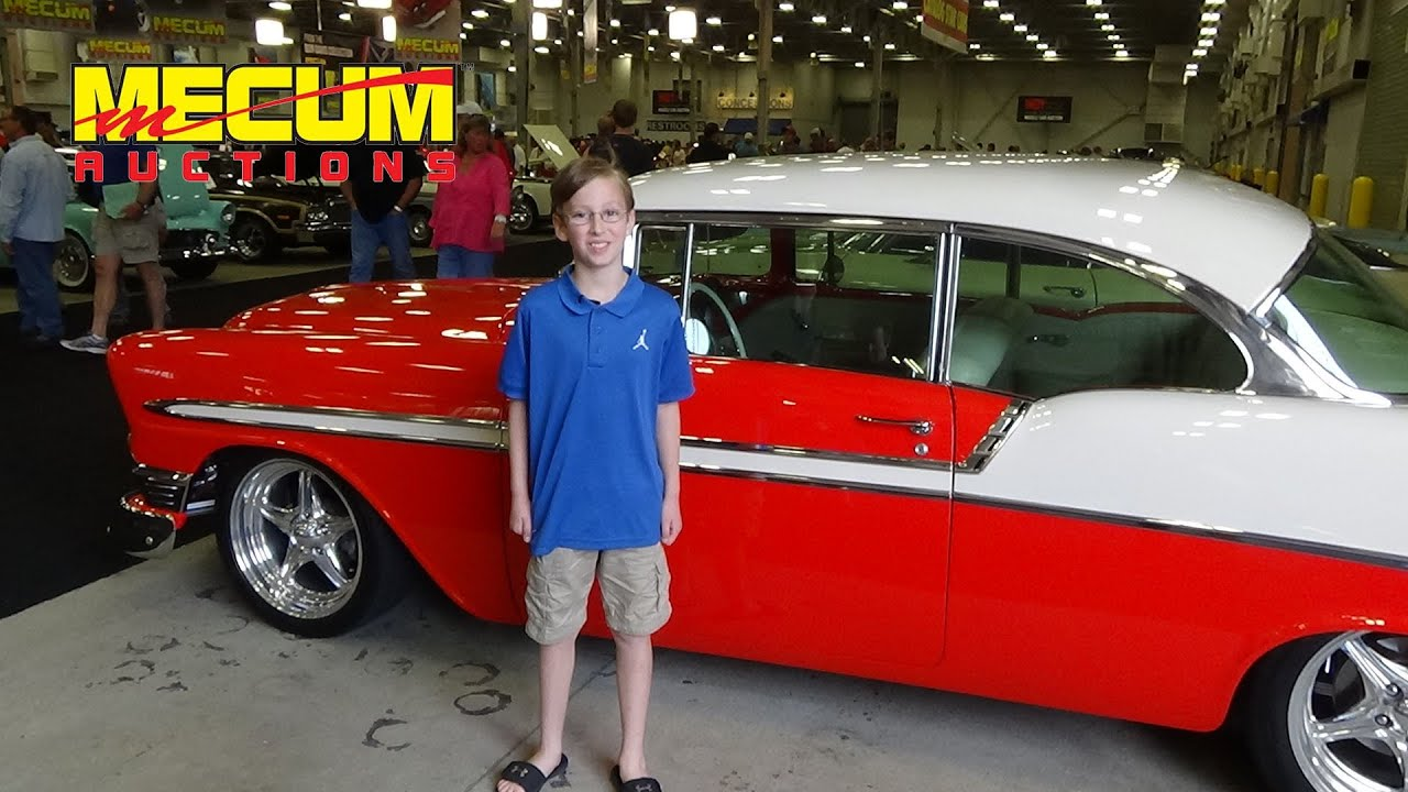 MECUM CAR AUCTION AUTO SHOW | COLLINTV - YouTube