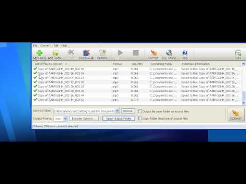 How To Split MP3 Files And Convert To WAV