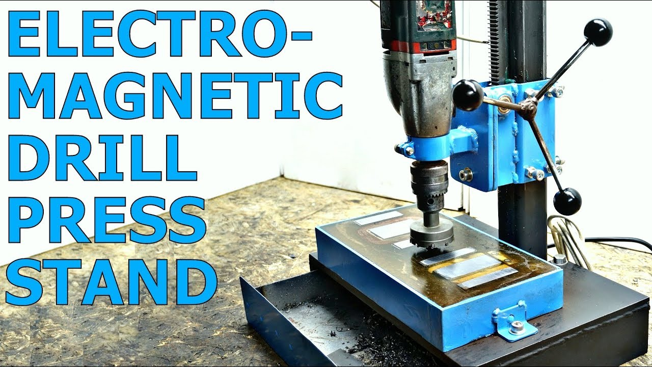 Electromagnetic Drill Press Stand Plans Youtube