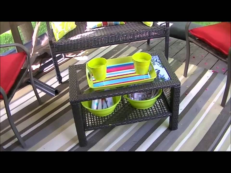 Small Patio Makeover on a Budget - YouTube on Patio Makeovers On A Budget id=22205