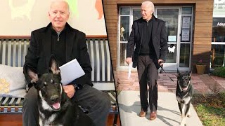 Former Vice President Joe Biden Adopts German Shepherd Named Major thumbnail