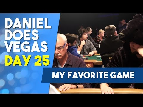 My absolute FAVORITE game Stud 8! - WSOP VLOG DAY 25