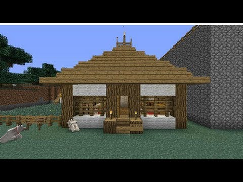 Minecraft xbox 360 tutorial como hacer una casa japonesa youtube - Ideas para construir una casa ...