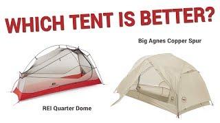 Which Tent Is Better? - Big Agnes Copper Spur vs. REI Quarter Dome