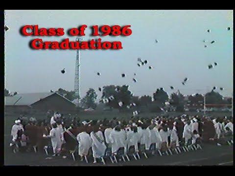 Kenton High School Graduation 1986