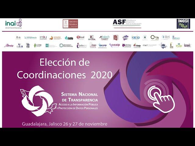 JORNADA ELECTORAL REMOTA PARA RENOVACIÓN DE COORDINADORES 2020