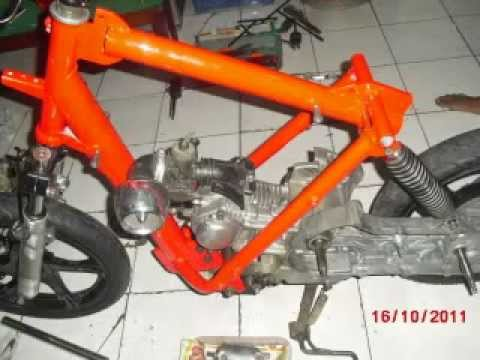 YAMAHA  NOUVO AT115 CUSTOM ( part 1 )