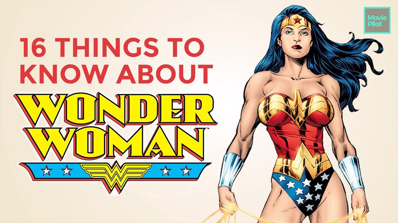 16 wonder woman facts