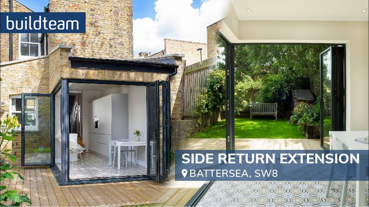Side Return Extension And Rear Kitchen Extension In Battersea Sw8 . Part 97