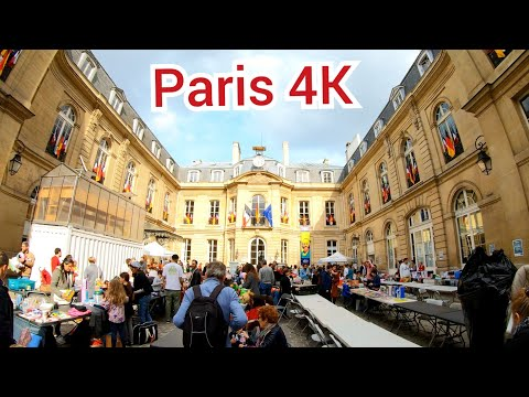 ⁴ᴷ Paris walking tour 🇫🇷 Faubourg-Monmartre and Bourse, France 4K