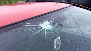 I hit my girlfriend's sister's car with a golf club