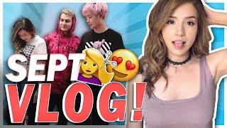 POKI'S NEW HAIR COLOR!? + PHOTOSHOOTS! - September Vlog!