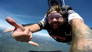 Skydiving in Montana