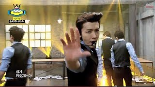 Super Junior M - Swing, 슈퍼주니어 M - 스윙, Show Champion 20140409