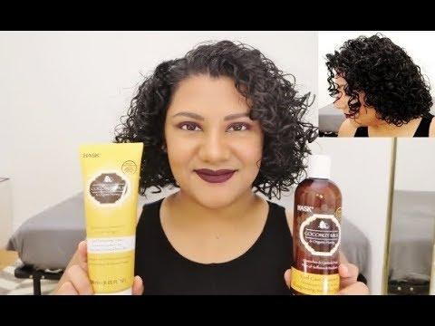 NEW HASK Coconut Milk & Organic Honey Curl Care Shampoo, Conditioner & Curl Enhancing Lotion