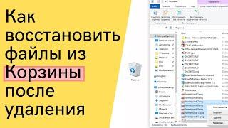 Як швидко і безкоштовно відновити файли після випадкової очищення Кошика під Windows 7, 8, 10)