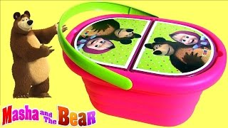 Play Doh Masha and the Bear Picnic Basket Baby Toy  Маша...