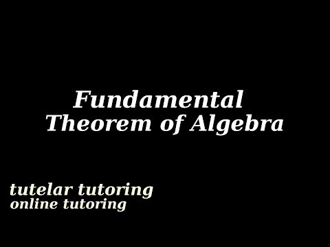 Fundamental Theorem of Algebra (geometrical proof)