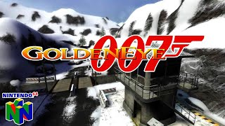 GoldenEye 007 (N64)  ||  Dam  ||  Intro Gameplay #1