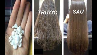 Chỉ với vài viên Vitamin B1, dù tóc bạn có khô xơ và gãy rụng đến mấy cũng óng mượt ngay tức khắc