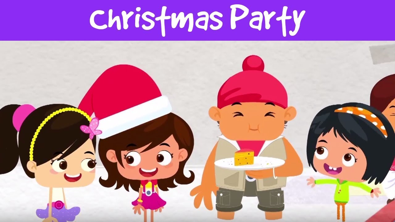 Christmas Party Images Cartoon.Christmas Party क र समस प र ट Christmas Stories For Kids Christmas Story Jalebi Street