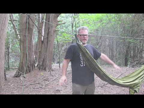 Hammock Tips - How To Get the Perfect  Hang with a Ridgeline