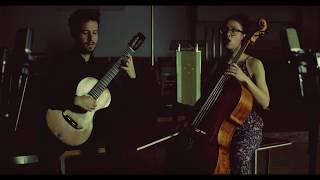 Duo Mayr-CelisCatalán plays Nacht und Träume by Franz Schubert (Arr. for voice, cello and guitar)