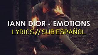 iann dior - emotions (Lyrics - Sub Español)