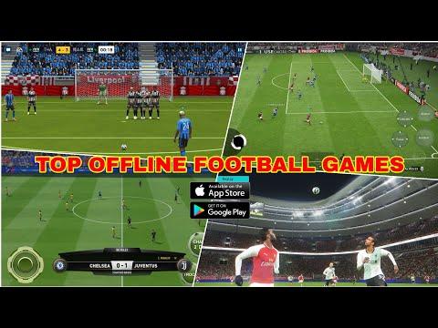 Top Game đá Bóng Offline Hay Nhất Trên Mobile | Top Offline Football Game, Android - Ios