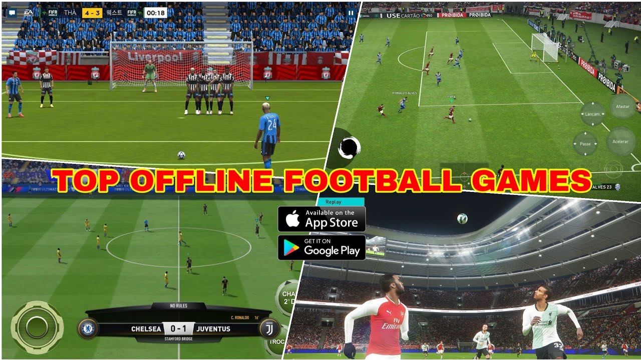 Top game đá bóng offline hay nhất trên mobile | Top offline football game, android – ios