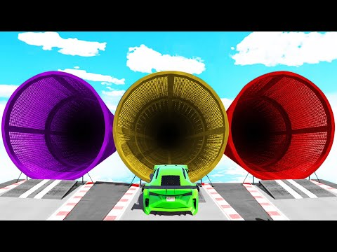 ONLY ONE TUNNEL LEADS TO THE FINISH! (GTA 5 Funny Moments)