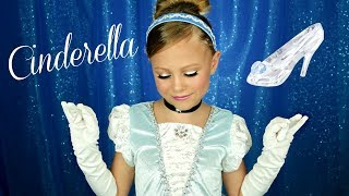 Cinderella Costume and Makeup Tutorial