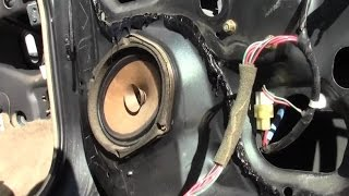 The Flat Rate Way To Replace A Car Door Speaker