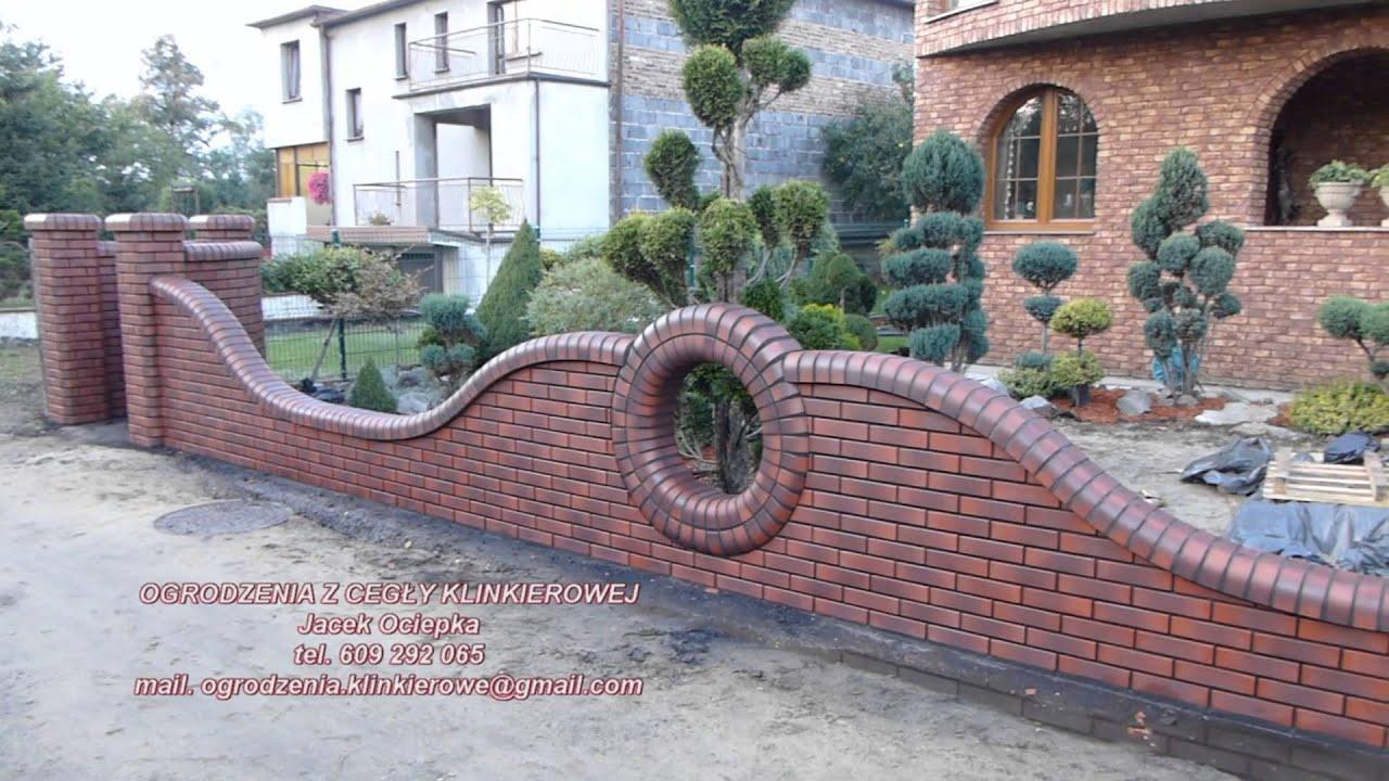 Ogrodzenia Z Cegly Klinkierowej Jacek Ociepka Cegla Wienerberger