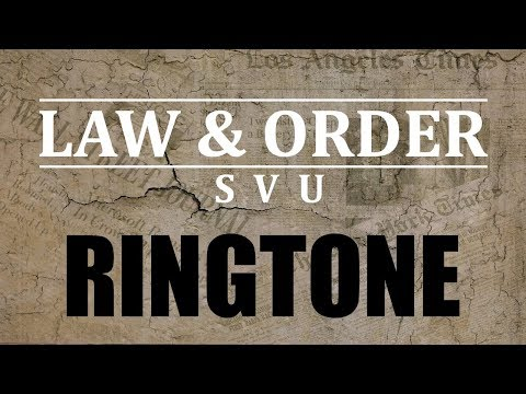 Law & Order Theme Ringtone and Alert