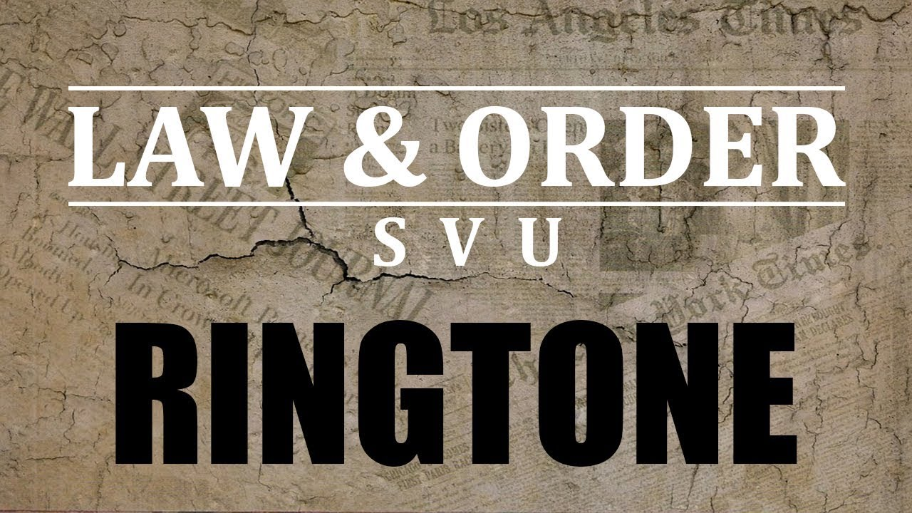 law and order ringtone download