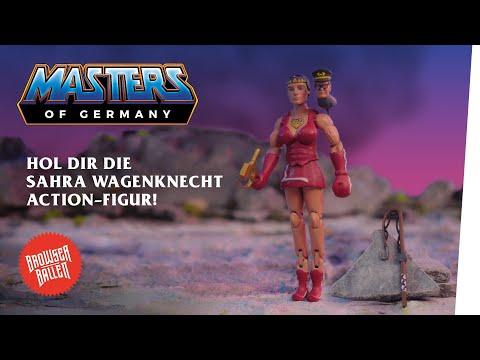 Die Sahra Wagenknecht Action-Figur