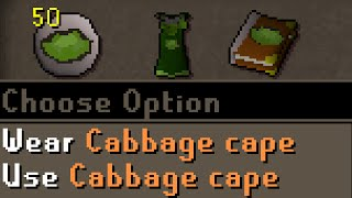 Achieving Level 120 Cabbage Picking