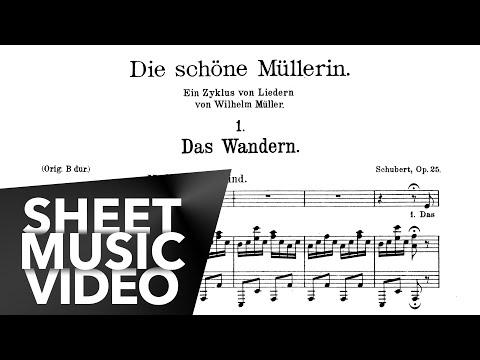 Schubert Die Schöne Müllerin (FULL) Op. 25, D. 795