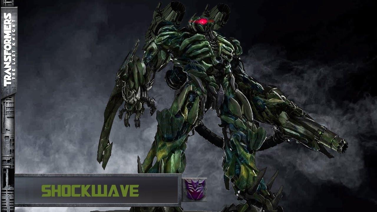 Shockwave The Last Knight Fan Art Youtube