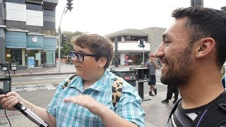 Andy Milonakis freestyled for me!