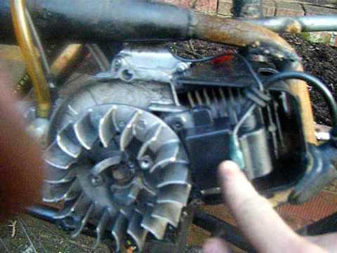 110cc Atv Ignition Wiring Diagram About Mini Bike Moto Engine Coils Youtube