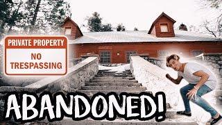 HAUNTED ABANDONED CABIN!!